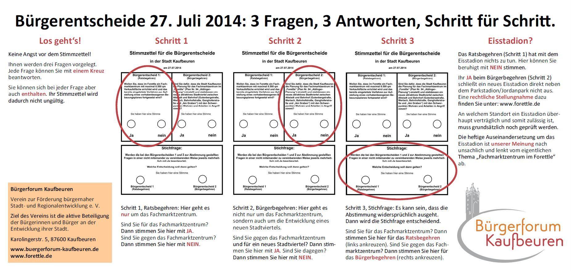 Bürgerforum KF. Anzeige Bürgerentscheide. Endversion. 20140717f
